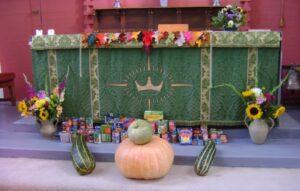 All Saints Harvest Altar