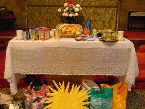 St Barnabas Harvest Altar